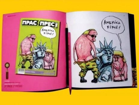 Карикатура на Чавдар Николов спечели 3-то място от World Press Cartoon
