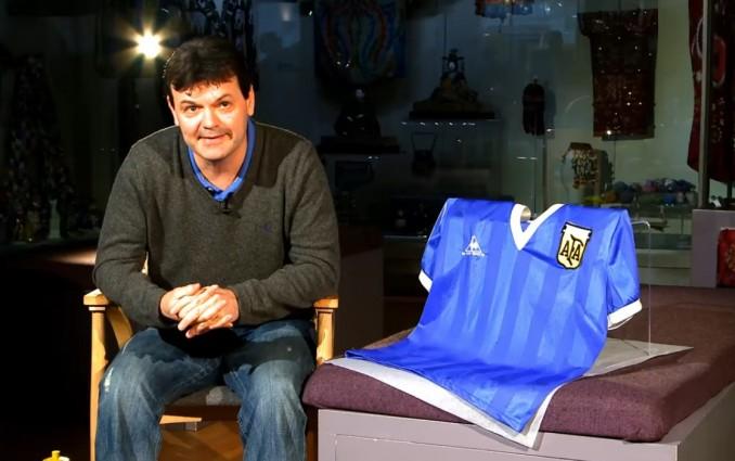 """Продават фланелката на Марадона от мача с """"Божията ръка"""" за 2 милиона долара"""