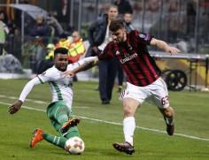 Лудогорец пак падна от Милан в протоколен реванш