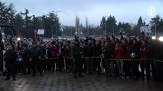 100 фена посрещнаха Милан на летище Варна