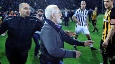 Правителството спря гръцкото първенство