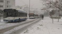 8 тролея закъсаха до обръщача във Владиславово