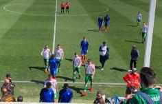 Снимки: България u19 отстъпи на Франция u19 с 0-2
