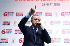 Ердоган пристигна във Варна