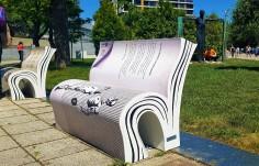 Уникални арт пейки украсиха Бургас