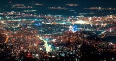 Видео: Зарята над София в новогодишната вечер